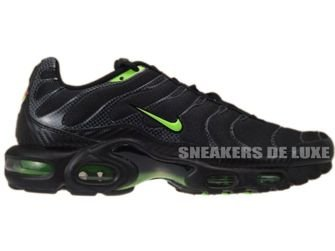 nike air max tn black and green