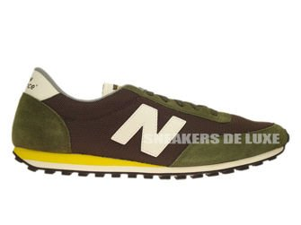New Balance U410HKC 410 Khaki / Charcoal ...