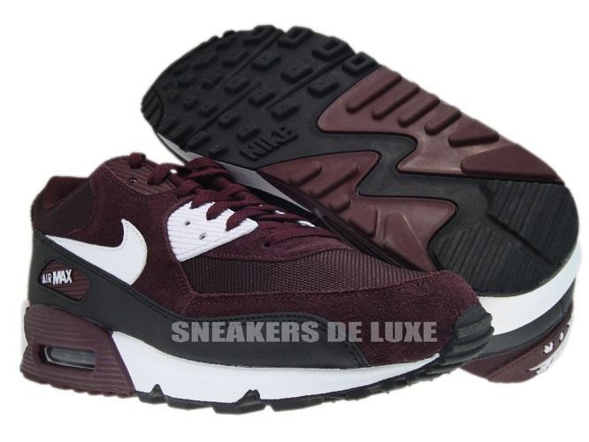 air max 90 burgundy white