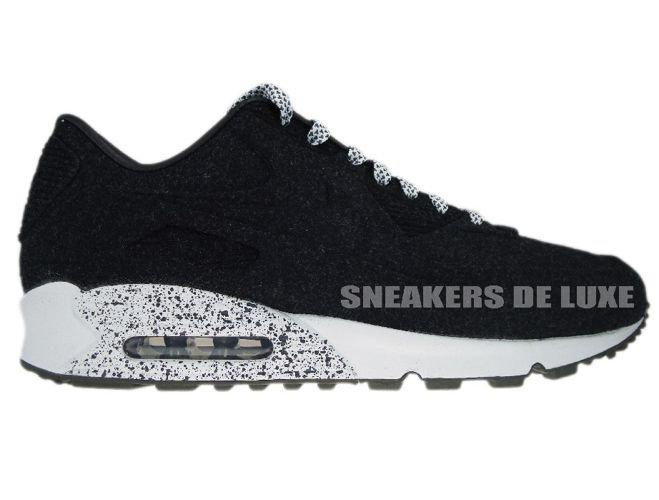 Nike Air Max 90 MID Winter Triple Black Gr. 40 47 475 Neu 806808 002