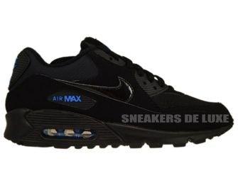 Nike Air Max 90 Black/Black-Blue Spark