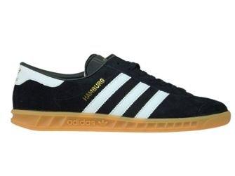 S76696 adidas Hamburg Core Black/Ftwr White/Gum S76696 adidas ...