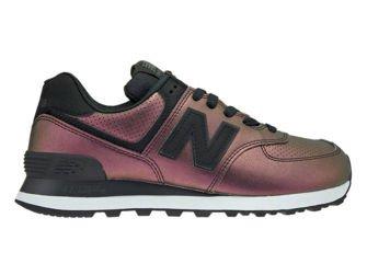 New Balance WL574KSB Sheen Pack Black WL574KSB New Balance \ womens |