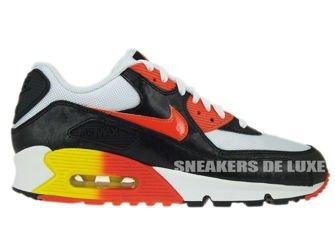 Nike Air Max 90 Men Limited Edition Black White Orange