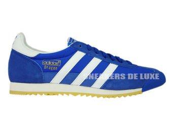 adidas dragon vintage bleu