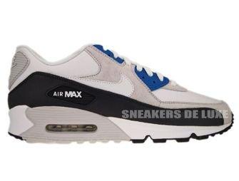 Nike Air Max Command Leather Obsidian Metallic Silver White