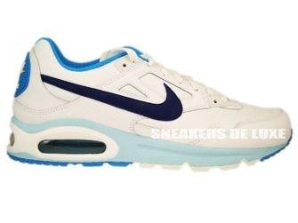 Nike Air Max Skyline White/Deep Royal-Orange Blue-Still Blue ...
