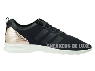 the best attitude a223f a8c71 S78962 adidas ZX Flux ADV Smooth Core Black/Copper Met./Core ...