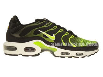 Original Nike Air Max Plus Tuned 1 TN Black Volt Green