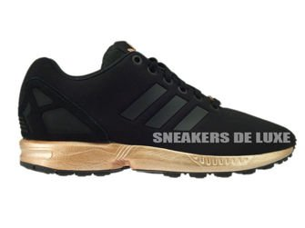 a1a1abe1ce2e S78977 adidas ZX Flux core black   core black   copper metallic S78977  adidas Originals   womens