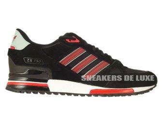 buy popular f5748 d3614 B24856 adidas ZX 750 core black   rust red f15-st   mist slate f15 ...