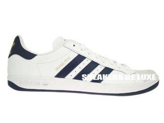 G64079 adidas Grand Prix White New Navy Metallic Gold