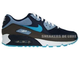 Nike Air Max 90 ObsidianTurquoise Grey White 325018 415