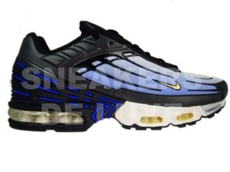 new arrival 8b347 fb5bb Nike Air Max Plus TN III 3 Hyper-Blue/Black Yellow 604201 ...