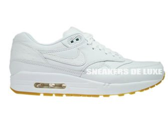 reputable site a9d2e dc4b1 705007-111 Nike Air Max 1 Leather PA White White-Gum Light Brown ...