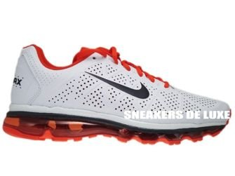 239cb59285f Nike Air Max 2011+ LeatherWhite Anthracite Team-Orange 456325-102 ...