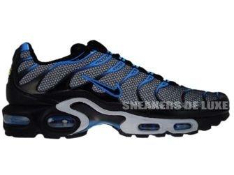 Nike Air Max Plus Tn 1 Wolf Grey Black Blue Glow 604133 408 Nike